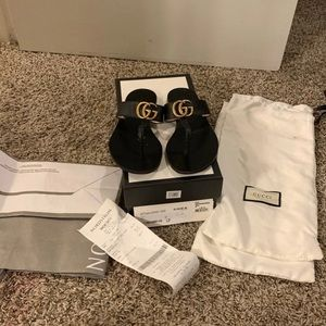 Gucci Marmont GG Sandals